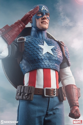 Picture of Captain America Sixth Scale Figure SIDESHOW