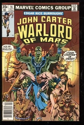 Picture of JOHN CARTER WARLORD OF MARS (1977) #16 9.4 NM