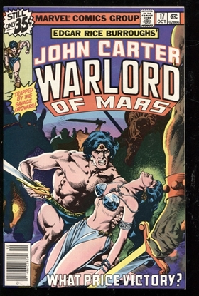 Picture of JOHN CARTER WARLORD OF MARS (1977) #17 9.4 NM
