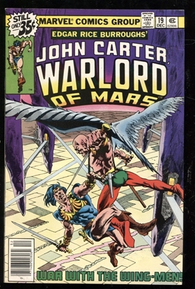 Picture of JOHN CARTER WARLORD OF MARS (1977) #19 9.2 NM-