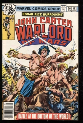 Picture of JOHN CARTER WARLORD OF MARS (1977) #20 9.4 NM