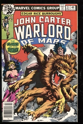 Picture of JOHN CARTER WARLORD OF MARS (1977) #21 9.4 NM