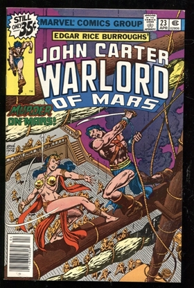 Picture of JOHN CARTER WARLORD OF MARS (1977) #23 9.4 NM