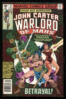 Picture of JOHN CARTER WARLORD OF MARS (1977) #24 8.0 VF