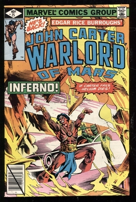 Picture of JOHN CARTER WARLORD OF MARS (1977) #25 8.0 VF