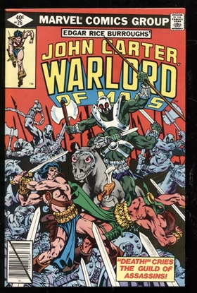 Picture of JOHN CARTER WARLORD OF MARS (1977) #26 9.4 NM