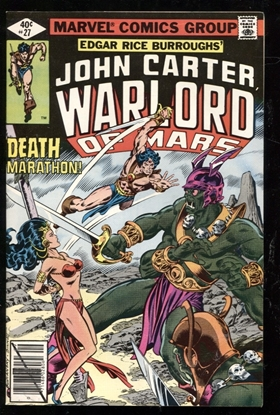Picture of JOHN CARTER WARLORD OF MARS (1977) #27 9.2 NM-