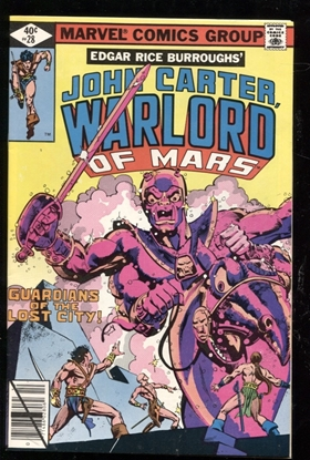 Picture of JOHN CARTER WARLORD OF MARS (1977) #28 9.0 VF/NM