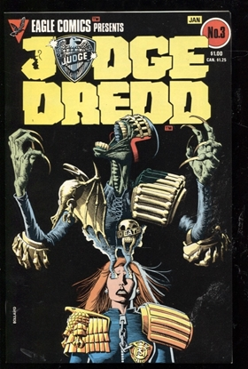 Picture of JUDGE DREDD (1983) #3 9.4 NM