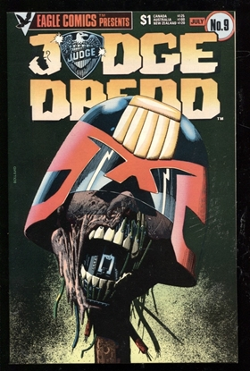 Picture of JUDGE DREDD (1983) #9 9.4 NM