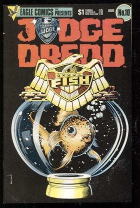 Picture of JUDGE DREDD (1983) #10 9.4 NM