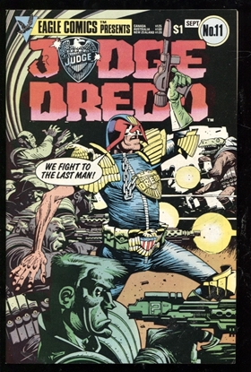 Picture of JUDGE DREDD (1983) #11 9.4 NM