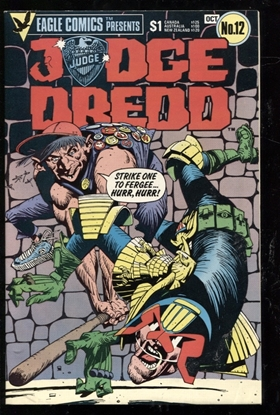 Picture of JUDGE DREDD (1983) #12 9.0 VF/NM