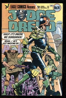 Picture of JUDGE DREDD (1983) #14 9.6 NM+