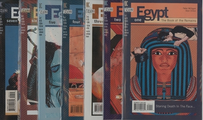 Picture of EGYPT #1 2 3 4 5 6 7 COMPLETE SET HIGH GRADE NM DC VERTIGO