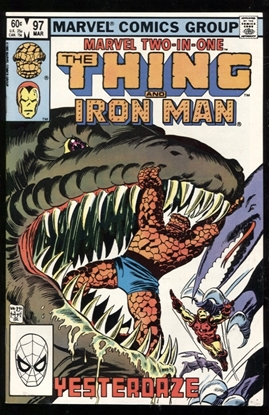 Picture of MARVEL TWO-IN-ONE (1974) #97 9.2 NM-