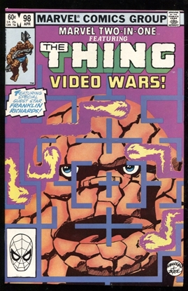 Picture of MARVEL TWO-IN-ONE (1974) #98 9.2 NM-