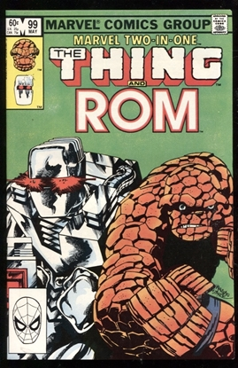 Picture of MARVEL TWO-IN-ONE (1974) #99 9.4 NM