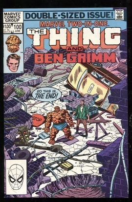 Picture of MARVEL TWO-IN-ONE (1974) #100 9.4 NM