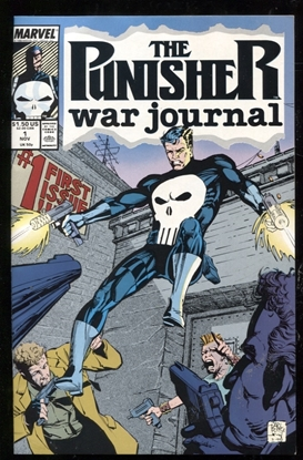 Picture of PUNISHER WAR JOURNAL (1988) #1 9.2 NM-