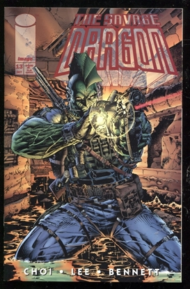 Picture of SAVAGE DRAGON (1993) #13 9.6 NM+