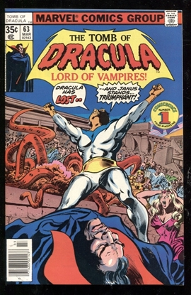 Picture of TOMB OF DRACULA (1972) #63 9.6 NM+