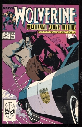 Picture of WOLVERINE (1988) #12 9.2 NM-
