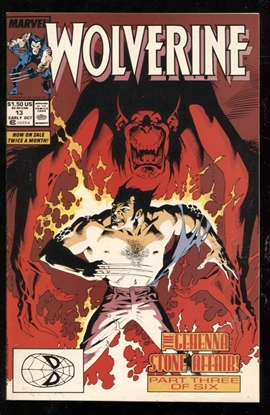 Picture of WOLVERINE (1988) #13 9.4 NM