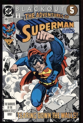 Picture of ADVENTURES OF SUPERMAN (1987) #485 9.6 NM+