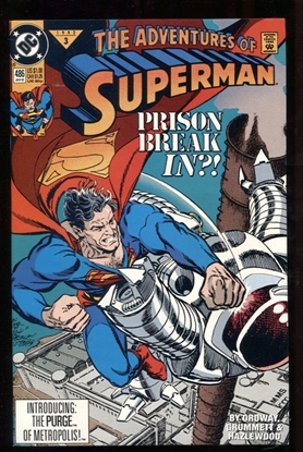 Picture of ADVENTURES OF SUPERMAN (1987) #486 9.6 NM+