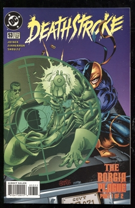 Picture of DEATHSTROKE (1991) #53 9.6 NM+
