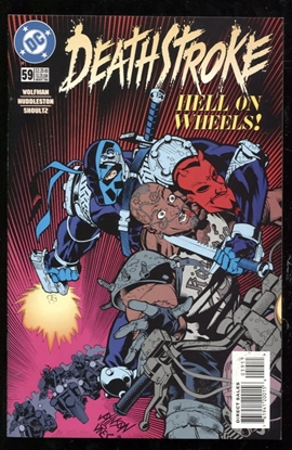 Picture of DEATHSTROKE (1991) #59 9.0 VF/NM