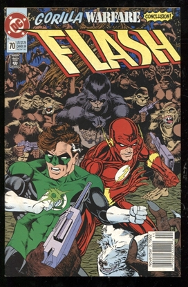 Picture of FLASH (1987) #70 7.5 VF-