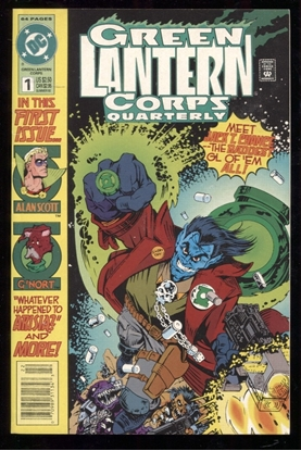 Picture of GREEN LANTERN CORPS QUARTERLY #1 8.5 VF+