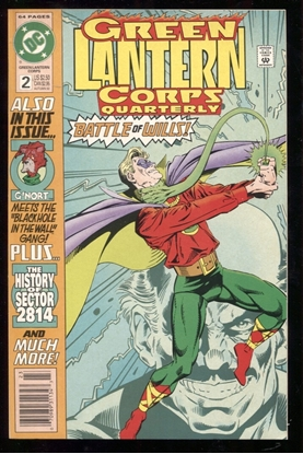 Picture of GREEN LANTERN CORPS QUARTERLY #2 9.2 NM-