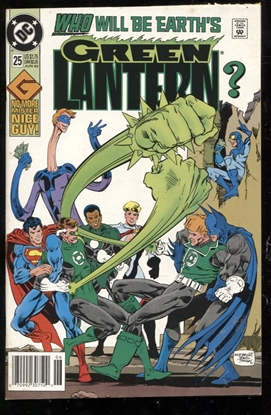 Picture of GREEN LANTERN (1990) #25 5.0 VG/FN