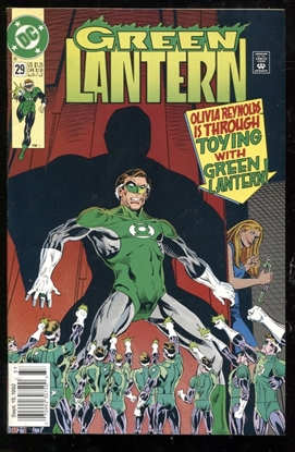 Picture of GREEN LANTERN (1990) #29 8.5 VF+