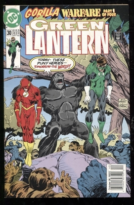 Picture of GREEN LANTERN (1990) #30 8.0 VF