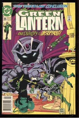 Picture of GREEN LANTERN (1990) #35 8.0 VF
