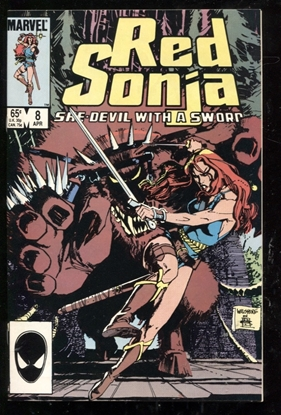 Picture of RED SONJA (1983) #8 9.6 NM+