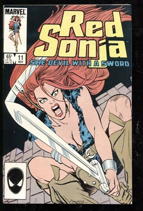 Picture of RED SONJA (1983) #11 9.2 NM-