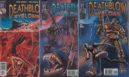 Picture of DEATHBLOW BY BLOWS (1999)  #1 2 3 SET VF/NM