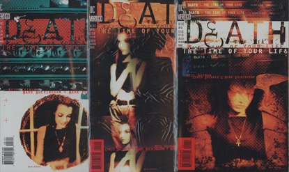 Picture of DEATH THE TIME OF YOUR LIFE (1996) #1-3 SET VF/NM