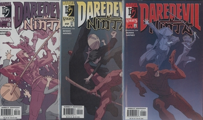 Picture of DAREDEVIL NINJA (2000) #1-3 SET VF/NM SET