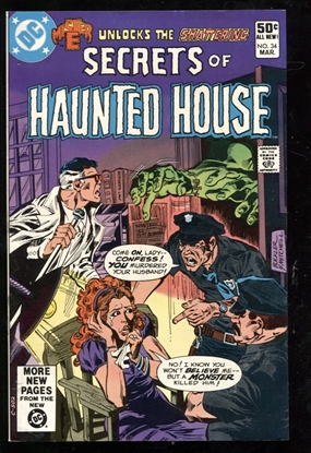 Picture of SECRETS OF HAUNTED HOUSE #34 8.5 VF+