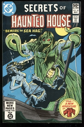 Picture of SECRETS OF HAUNTED HOUSE #36 9.4 NM
