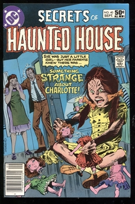 Picture of SECRETS OF HAUNTED HOUSE #40 9.0 VF/NM