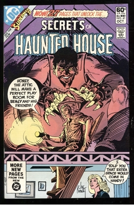 Picture of SECRETS OF HAUNTED HOUSE #41 9.4 NM