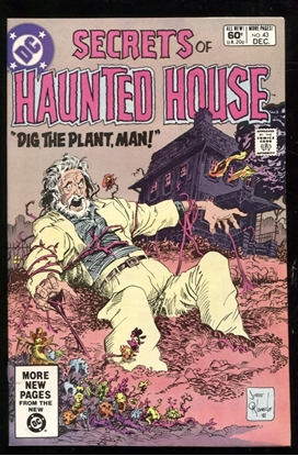 Picture of SECRETS OF HAUNTED HOUSE #43 9.4 NM