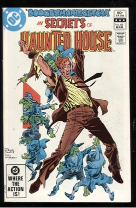 Picture of SECRETS OF HAUNTED HOUSE #46 9.0 VF/NM